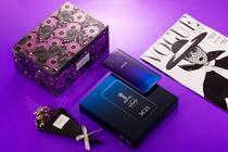 这是动人心魄的感觉,vivo X21魅夜紫香薰礼盒