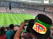 """2018世界杯决赛夜,中国球迷上演""""帽子戏法"""""""