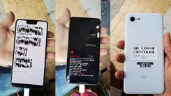 刘海屏+大下巴 Pixel 3 XL真机照流出 延续单摄设计