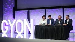 新鲜血液 汽车品牌GYON洛杉矶品牌发布会