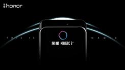 荣耀Magic 2发布屏占比近100% 引来小米MIX3提前亮相