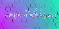 【科普】决定你上网体验的双通路Wi-Fi究竟是什么?