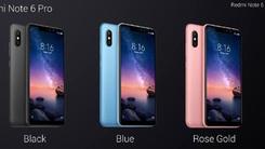 红米Note 6 Pro泰国发布 骁龙636配刘海屏设计