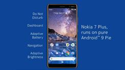 正式版来了  HMD宣布开始Nokia 7 Plus安卓9.0推送