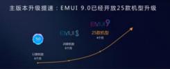 华为EMUI9.0新年升级第一波 两款机型拉开2019升级序幕