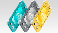 任天堂的Switch Lite有助于将硬件销售提高50%以上 贡献巨大