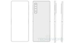 华为竖向折叠屏手机专利曝光 或采用特殊转轴设计