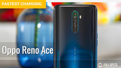 OPPO Reno Ace获GSMArena年度Fastest charging称号