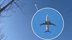 飞机也能拍得着 OPPO 10X混合光学变焦表现突出