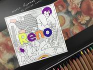 OPPO Reno发布会邀请函曝光,艺术插画尽显创造力内涵