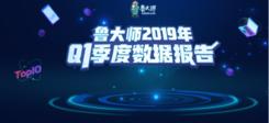 鲁大师发布2019年Q1季度手机信号榜,小米MIX3信号称霸!