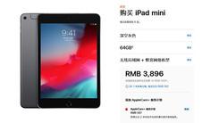 3896元起 苹果上架iPad mini蜂窝网络版
