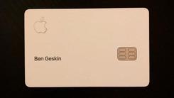 苹果信用卡Apple Card首现身 极简风格质感十足
