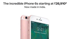 印度制造! 苹果将在印度推销iPhone6s