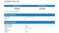 华为nova 5i现身Geekbench数据库 搭载麒麟710