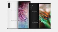 Galaxy Note10渲染图曝光 双尺寸版本 配25W快充