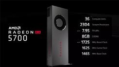 甜品来了 AMD正式发布Radeon RX 5700系列显卡