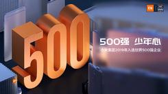 纪念进入世界500强 小米发放员工每人1000股福利