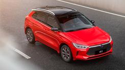 新一代智感电动跨界车比亚迪e2来了 预售10万-13万元