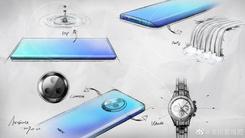 vivo NEX新机设计图曝光 瀑布屏+圆形摄像头