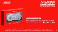 Switch Online将提供超级任天堂游戏 支持倒带功能