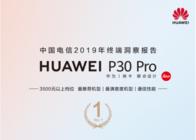 华为P30 Pro斩获2019终端洞察报告多个第一,彰显领先通信实力