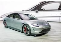 进军汽车界 索尼推出Vision-S电动概念车