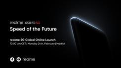 realme真我X50 Pro 5G旗舰2.24发布 90Hz+65W超级闪充
