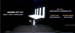 凌霄芯片加持 华为路由AX3携独家WI-FI 6+技术亮相
