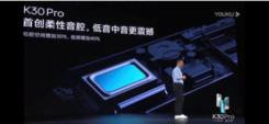 Redmi K30 Pro发布,首次搭载FRC扬声器