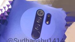 Redmi 9真机照片曝光 百元级别后置四摄+后置指纹