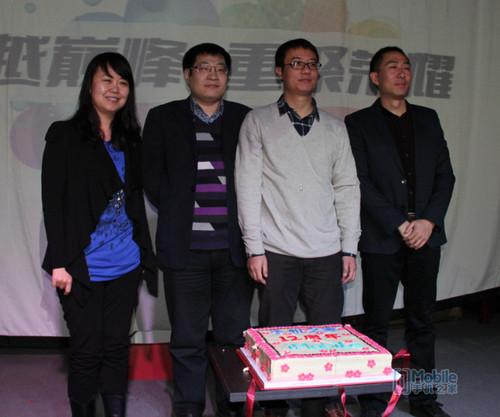 创始人高春辉为手机之家12周年庆生