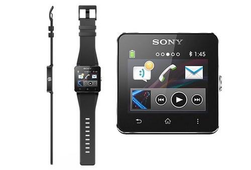 索尼智能手表SmartWatch 2今日发布