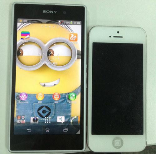 PK iPhone 5 白款Xperia Honami曝光