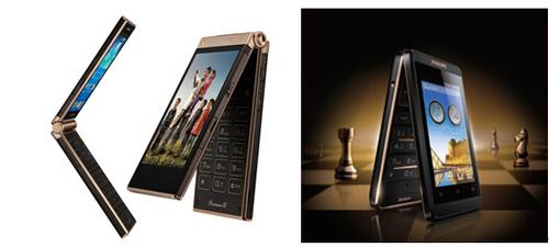 飞利浦手机w9588,w930等机型占据.飞利浦手机对翻盖机的钟高清图片
