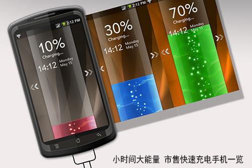 小时间大能量 市售快速充电手机一览