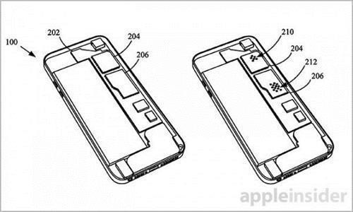 苹果专利文件截图