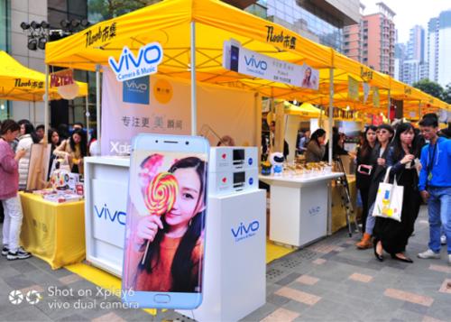 专注更美瞬间vivo Xplay6让黄磊喜欢上拍照58