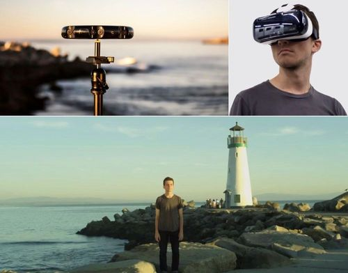 Samsung-Project-Beyond-virtual-reality-environment