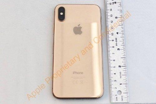 iPhone X金色