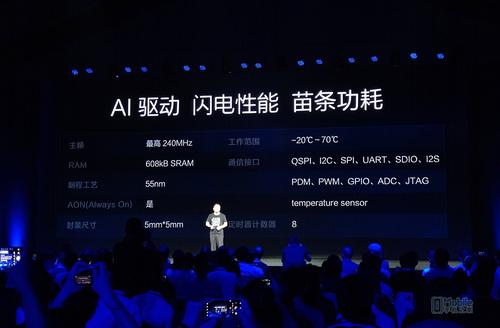 华米发布会新品齐发 智能穿戴首颗AI芯片亮相