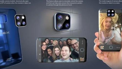 外媒爆料 vivo NEX 2或将配备可拆卸后置摄像头�?�