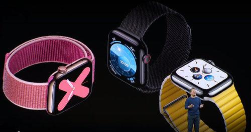 399美元起!Apple Watch 5正式发布