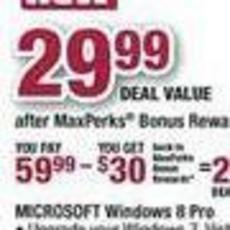 Windows 8升级仅需187元 黑色星期五折扣多