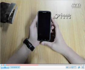 手机之家戴尔D43 康宁玻璃防刮花测试