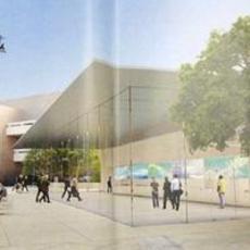 苹果加州新店11月开张 独特设计3面玻璃墙