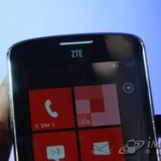 中兴首款WP7手机Tania通过工信部认证