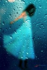你若安好便是晴天 离线壁纸 雨滴试用