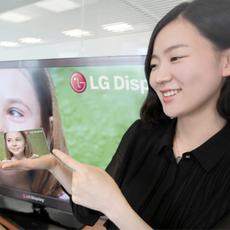 LG展示1080p分辨率5英寸屏 ppi高达440