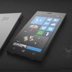 WP8概念机Surface Phone 四核1600万摄头